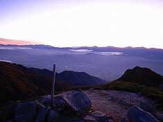 赤椰岳 西山 空木岳